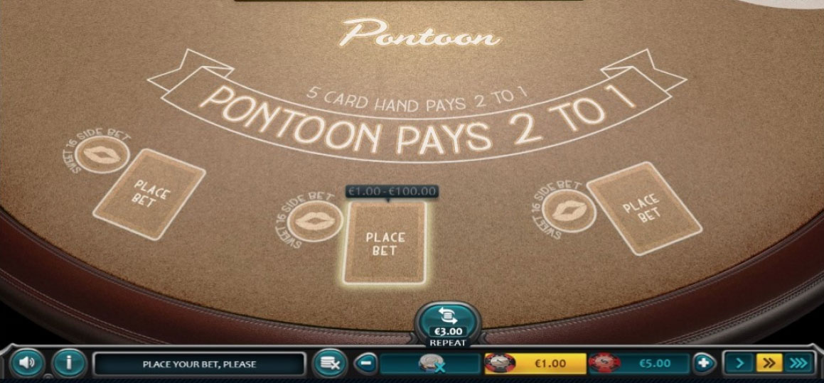 Blackjack Pontoon